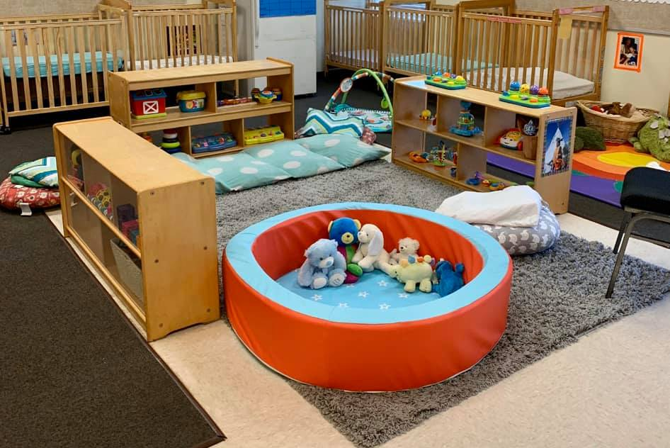 covid-19-cleaning-infant-room-daycare-Greenville-NC