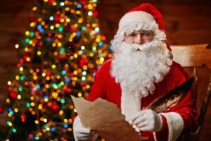 Santa Cares event at Greenville NC Mall