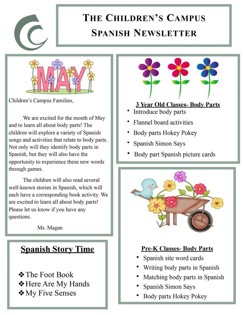 Childrens-Campus-Spanish-May-newsletter